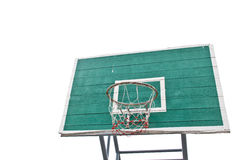 Basket ball board on isolate Royalty Free Stock Photos