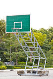 Basket ball board in outdoor Stock Images