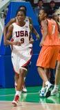 Basket-ball Christion Shameka des Etats-Unis d'équipe de joueur Image libre de droits