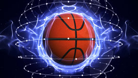 BASKET BALL Computer Graphics Background Royalty Free Stock Photography