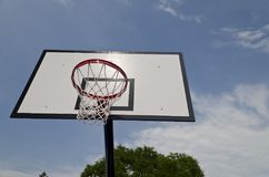 Basket-ball court Photo stock