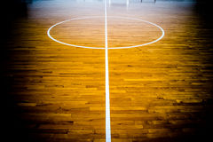 Basket-ball court Photographie stock libre de droits