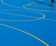 Basket Ball Court Royalty Free Stock Photography