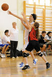 basket-ball d'action Photo stock