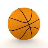 Basket-ball d'isolement illustration stock