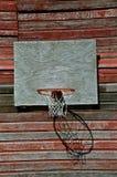 Basket-ball de grange Photographie stock libre de droits
