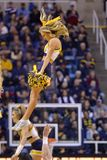 2015 basket-ball de NCAA - état du WVU-Oklahoma Images stock