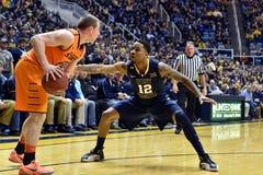 2015 basket-ball de NCAA - état du WVU-Oklahoma Image stock