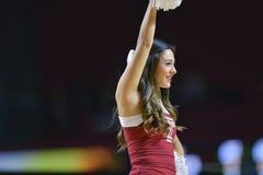 2014 basket-ball de NCAA - acclamation/danse Image stock