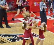 2014 basket-ball de NCAA - acclamation/danse Photos stock