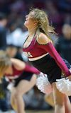 2014 basket-ball de NCAA - acclamation/danse Images stock