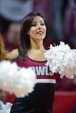 2014 basket-ball de NCAA - acclamation/danse Photo stock