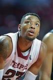 2014 basket-ball de NCAA - action de jeu de temple de Towson @ Photos stock