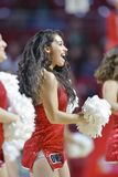 2014 basket-ball de NCAA - action de jeu de temple de Towson @ Photo libre de droits