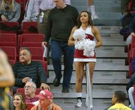 2014 basket-ball de NCAA - action de jeu de temple de Towson @ Images stock