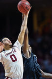 2016 basket-ball de NCAA - Cincinnati au temple Images stock