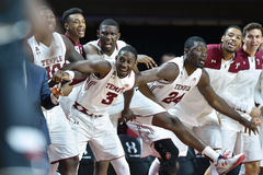 2016 basket-ball de NCAA - Cincinnati au temple Photographie stock libre de droits