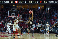 2016 basket-ball de NCAA - Cincinnati au temple Images libres de droits