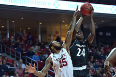 2016 basket-ball de NCAA - Cincinnati au temple Image libre de droits