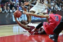 2014 basket-ball de NCAA - grands 5 Photo libre de droits