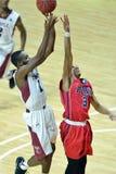 2014 basket-ball de NCAA - grands 5 Image stock