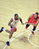 2014 basket-ball de NCAA - grands 5 Image stock