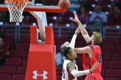 2014 basket-ball de NCAA - grands 5 Images stock