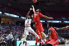 2016 basket-ball de NCAA - Houston au temple Image stock