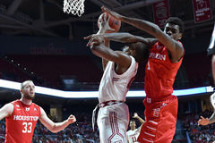 2016 basket-ball de NCAA - Houston au temple Photo stock