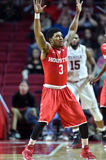 2016 basket-ball de NCAA - Houston au temple Photographie stock libre de droits