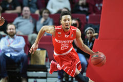 2016 basket-ball de NCAA - Houston au temple Photo libre de droits