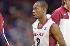 2014 basket-ball de NCAA - le Kansas au temple Photos libres de droits