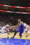 2014 basket-ball de NCAA - le Kansas au temple Photographie stock