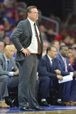 2014 basket-ball de NCAA - le Kansas au temple Photos stock
