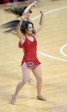 2014 basket-ball de NCAA - peloton d'esprit Photos stock