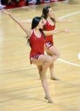 2014 basket-ball de NCAA - peloton d'esprit Images libres de droits