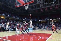 2015 basket-ball de NCAA - St Joe au temple Photo stock