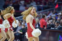 2015 basket-ball de NCAA - Temple-Cincinnati Photographie stock libre de droits
