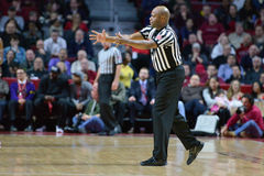 2015 basket-ball de NCAA - Temple-Cincinnati Images libres de droits