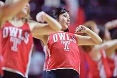 2015 basket-ball de NCAA - Temple-Cincinnati Photo stock