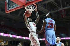 2015 basket-ball de NCAA - temple contre l'état du Delaware Image libre de droits