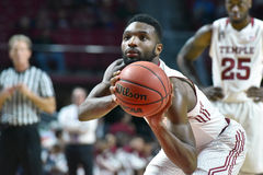 2015 basket-ball de NCAA - temple contre l'état du Delaware Images stock