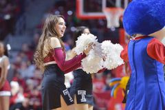 2015 basket-ball de NCAA - Temple-ECU Photo libre de droits