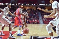 2015 basket-ball de NCAA - Temple-La de quarts de finale de LENTE technologie Photographie stock