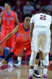 2015 basket-ball de NCAA - Temple-La de quarts de finale de LENTE technologie Image stock