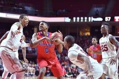 2015 basket-ball de NCAA - Temple-La de quarts de finale de LENTE technologie Photo libre de droits