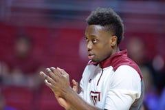 2015 basket-ball de NCAA - Temple-La de quarts de finale de LENTE technologie Photos stock