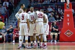 2015 basket-ball de NCAA - Temple-La de quarts de finale de LENTE technologie Images stock