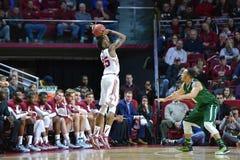 2015 basket-ball de NCAA - temple-Tulane Images libres de droits