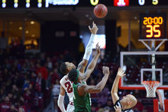 2015 basket-ball de NCAA - temple-Tulane Image stock